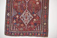 Antique Khamseh tribal rug 217x124cm (10 of 10)