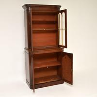 Antique William  IV Mahogany Library Bookcase (3 of 9)