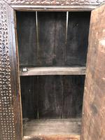 Unusual Antique Carved Side Cupboard (4 of 11)