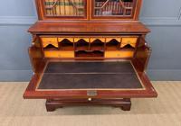 Edwardian Inlaid Mahogany Secretaire Bookcase (12 of 21)