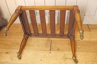 Victorian Luggage Rack, Suitcase Stand (4 of 10)