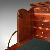Antique Secretaire Cabinet, English, Chest of Drawers, Bureau, Desk, Georgian (11 of 12)
