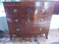 Regency Bow Chest of Drawers Sphinx Handles (8 of 8)