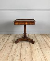 William IV Rosewood Occasional Table