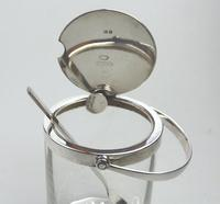 Asprey & Co Extremely Rare Solid Silver Novelty Automatic Opening Honey Jar c.1919 (8 of 11)