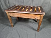 Antique Luggage Rack for Bedroom or Hall (2 of 6)
