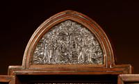Fine and Very Decorative Russian Triptych Devotional Icon 19th Century (2 of 12)