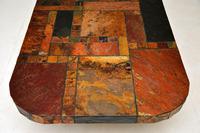 Large Swedish Stone Vintage Coffee Table (9 of 11)
