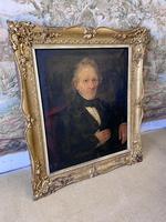 19th Century Portrait of Gentleman in Gilt Frame (4 of 5)