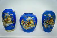 3 Rare Mikado Vases