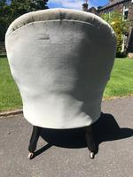 Antique English Upholstered Chair by Cornelius Smith (4 of 8)