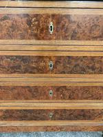 French 19th Century Marble Top Chest of Drawers (2 of 5)