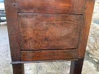 Large Antique Elm Dresser Base (2 of 21)