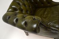 Antique Georgian Style Leather Armchair (6 of 10)