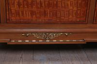 Handsome Pair of Parquetry Large Single Beds (9 of 10)