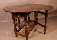 17th Century Gateleg Dining Table c.1680 (2 of 13)