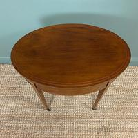 Stunning Victorian Shoolbred Mahogany Antique Centre Table (4 of 6)