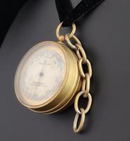 Antique pocket barometer, Darton and Co (5 of 12)