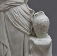 19th Century Parian Figure of a Greek Lady (6 of 7)