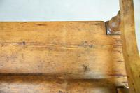 Rustic Pine Bar Back Bench (2 of 7)