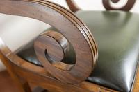 Early 19th Century Mahogany Metamorphic Library Chair (2 of 8)