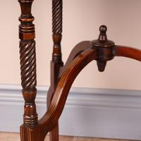 Edwardian Inlaid Rosewood Drop Leaf Occasional Table (22 of 23)