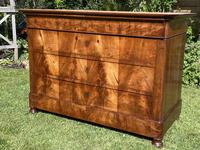 French Burr Walnut Commode (2 of 6)