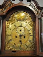 George III Inlaid Mahogany Grandfather Clock by G Brown, Edinburgh (2 of 12)