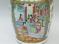 Good Large 19th Century Chinese Famille Rose Vase (10 of 12)
