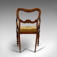 Antique Scroll Armchair, English, Mahogany, Buckle Back, Seat, William IV, 1835 (7 of 11)