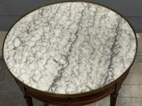 French Marble Top Coffee or Lamp Table (3 of 17)