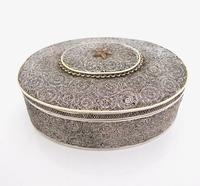Very Rare 18th Century Indian Filigree Silver Padan Box Karimnagar c.1760 (4 of 11)