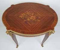 Early 20th Century Marquetry Inlaid Mahogany Table (2 of 5)