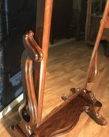 Victorian Walnut Cheval Mirror (12 of 12)