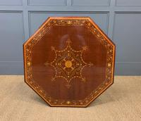 Edwards & Roberts Inlaid Mahogany Centre Table (3 of 15)