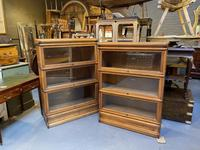 Pair of Globe Wernicke Bookcases (6 of 6)