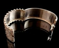 Victorian silver cuff bangle, Aesthetic (15 of 15)