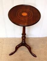 Inlaid Mahogany Wine Table (2 of 9)