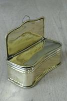 Fine English Antique 19th Century Brass Taper Box Hinged Brass Box for Fireplace (2 of 5)