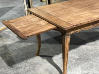 French Oak Farmhouse Kitchen Dining Table (7 of 18)