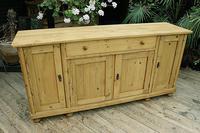 2m Pine Dresser Base Sideboard / Cupboard / TV Stand (4 of 13)