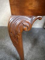 Carved Mahogany Cabriole Leg Stool In The Queen Anne Style (8 of 9)
