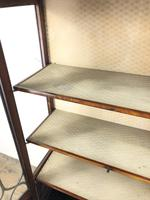 Edwardian Inlaid Mahogany Glass Display Cabinet (M-1535) (4 of 9)