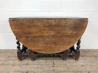 Antique 18th Century Welsh Oak Gateleg Table, Folding Table, Dining Table or Kitchen Table (7 of 12)