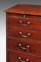 George III Period Straight Fronted Mahogany Chest of Drawers (2 of 3)