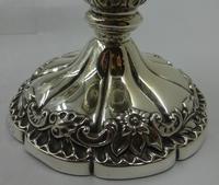 Pair of Antique Silver Candlesticks. Birmingham 1901 (4 of 5)