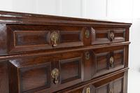 17th Century Walnut Chest of Drawers (6 of 8)