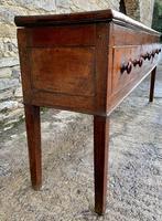 Large Antique Elm Dresser Base (6 of 21)