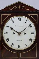 Regency Mahogany Bracket Clock by Thomas Connald (6 of 8)