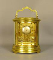 Oval Repeating Carriage Clock with Calendar & Alarm (10 of 10)